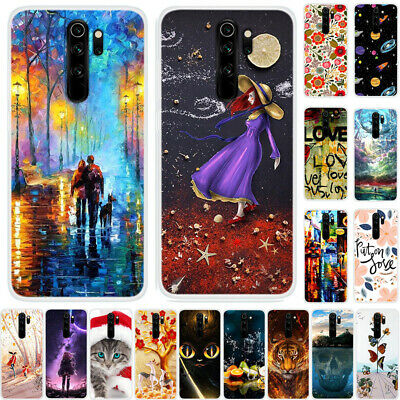 For Xiaomi Mi 9 Redmi 7A Note 7 8 Pro Painted Soft TPU Silicone Slim Case Cover