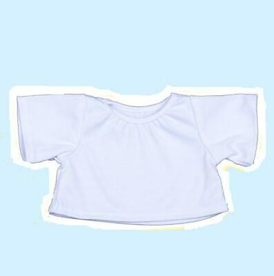 White T-shirt for 10 inch bears