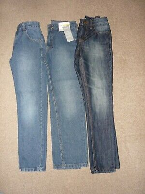 Boys Jeans Age 9-10 Years x 3 Pairs - Next - George.