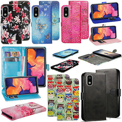 Case For Samsung Galaxy A10 A20E A70 A40 A50 A90 5G Genuine Leather Wallet Cover
