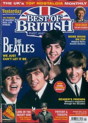 Best Of British Magazine January 2019 The Beatles Cover Brand New & Unread