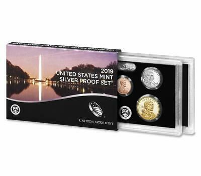 2019 S United States Mint 10pc Silver Proof Set w/ .999 Silver OGP & COA