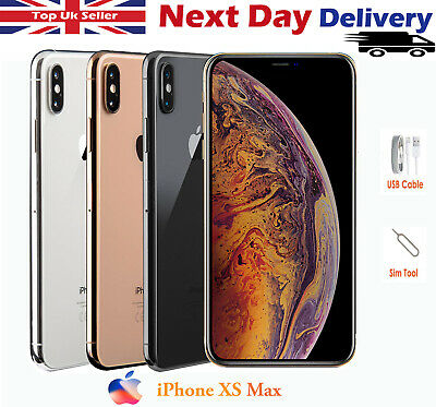 Apple iPhone XS Max 64GB 256GB 512GB Network Unlocked Smartphone Various Colours