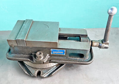 "Kurt 6"" Ang-Lock Milling Vise with Swivel Base, D60"