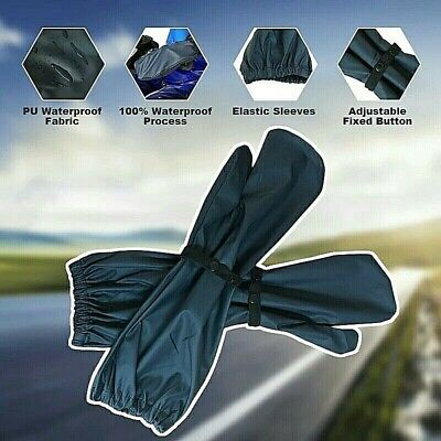 Motorcycle Motorbike waterproof Over Mitts gloves  Long