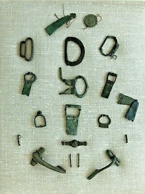 Late Roman and Medieval Ancient Artifacts.