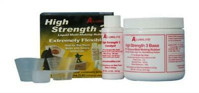 Alumilite High Strength 3 Liquid Mold Making Rubber, 1-Pound, Pink