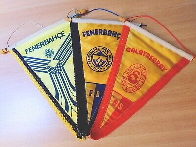 3 Wimpel  Fenerbahce - Galatasaray - Istanbul