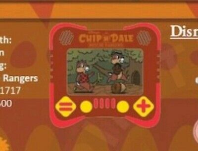 Disney Parks Pin I Heart Gaming: Chip & Dale Rescue Rangers LE pin presale 11/14