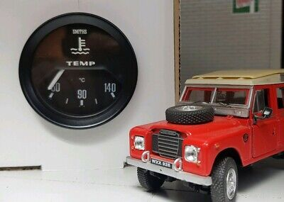 """Land Rover Series 1 2 2a 3 OEM Smiths 2"""" Water Engine Temp Temperature Gauge"""