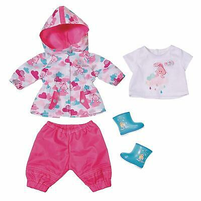 Baby Born 823781 Deluxe Fun in The Rain Doll Clothing Set
