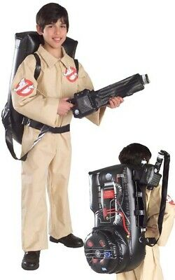 Licensed Ghostbuster Boys Jumpsuit Child Inflatable Back Dress Halloween Costume