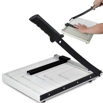 1pc Paper Cutter Portable A4 to B7 Convenient Paper Guillotine for Home Office