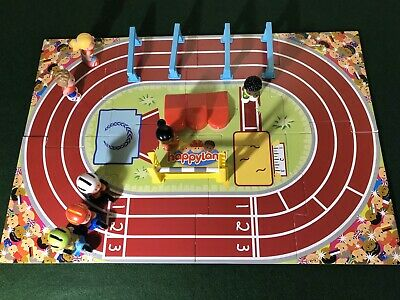 ELC Happyland - Race Track Sports Day Set - Complete (Rare)