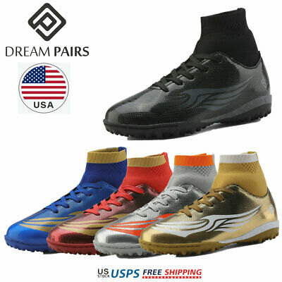 DREAM PAIRS Toddler Boys Girls Kids Mens Athletic Football Soccer Cleats Shoes