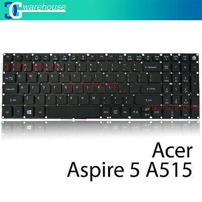 New Keyboard for Acer Aspire 5 A515-51 A515-51G A515-41G US black