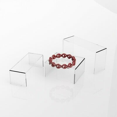 Clear Acrylic Riser / Perspex Display Stand / Riser Plinth / Jewelry Stand