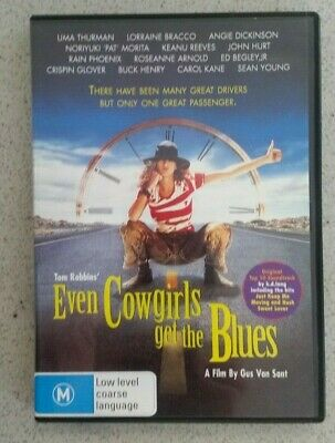 EVEN COWGIRLS GET THE BLUES (DVD, 1993) Dedicated to River Phoenix/ R4
