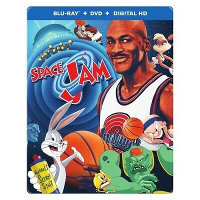 Warner Home Video Br611343 Space Jam (Blu-Ray/Dvd/Digital Hd/Steelbook)