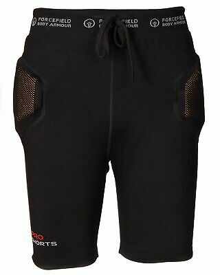 Forcefield Protektor Pro Short 2 Schwarz Level 2 Black