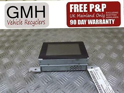 Nissan Primera Sat Navigation Time Clock Display Screen Unit 28090ba000  02-08♫