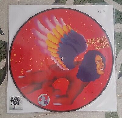 David Bowie 'Man Who Sold' Picture Disc Lp Rsd Record Store Day 2016 Sigillato