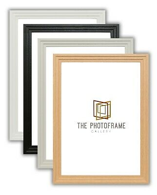 Photo Frame Picture Frames Step Style Black White New Frames All Sizes Available