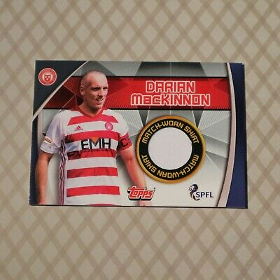 Topps - Match Attax - 2019/20 SPFL - #SC6 Darian MacKinnon (Shirt Relic) x 1