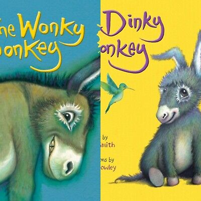 The Wonky Donkey & The Dinky Donkey By Craig Smith (Paperback) *NEW* Books
