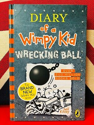Diary of a Wimpy Kid Book 14: Wrecking Ball by Jeff Kinney (Hardback 2019) *NEW*