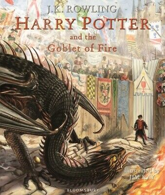 Harry Potter and the Goblet of Fire Illustrated Edition (Hardcover 2019) *NEW*