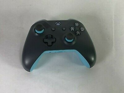 Genuine Gray & Teal Microsoft Xbox One 1708 Wireless Controller Good Condition