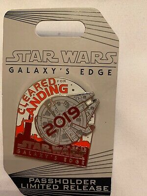 Star Wars Galaxy's Edge Annual Passholder Limited Release Landing Pin 2019 AP