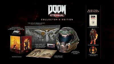 Doom Eternal Collectors Edition PC confirmed RELEASE DAY DELIVERY