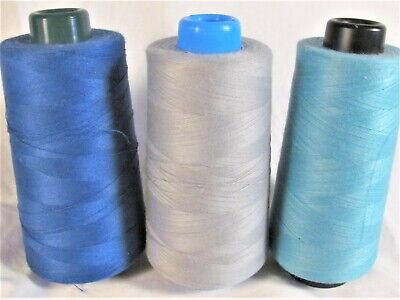 Stitchcraft Mills CONE THREAD 6000 yds VARIOUS COLORS