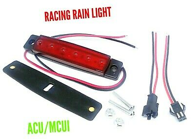 Motorcycle Rain Light With Connector -Acu/Mcui Approved