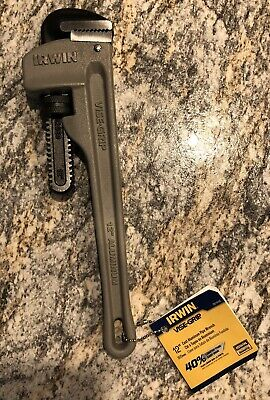 18-Inch IRWIN VISE-GRIP Tools Cast Aluminum Pipe Wrench 2-1//2-Inch Jaw Capacity 2074118