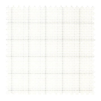 Zweigart Waste Canvas 14 Mesh for Cross Stitch White with Blue Easy Count Lines