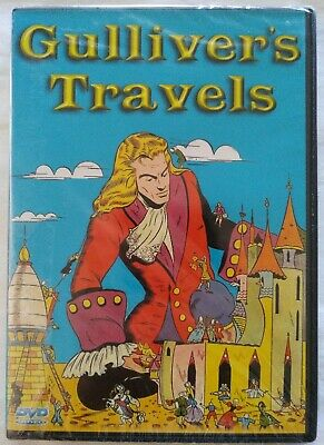 Gulliver's Travels Animated DVD *New Sealed*
