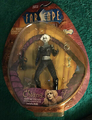 Toy Vault Farscape Series 1 Chiana Armed and Dangerous Action Figure - Very Nice