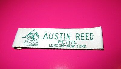 "Vintage AUSTIN REED Petite LABEL London - New York ""LABEL ONLY"""