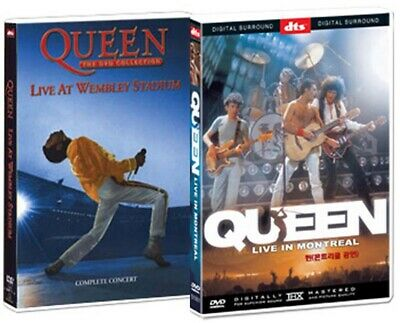 Queen - Bohemian Rhapsody (Live At Wembley + Montreal) - DVD new