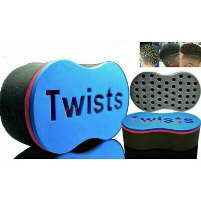 Barber Hair Brush Sponge   Dreads Locking Twist   Coil Afro Curl   Wave Comb
