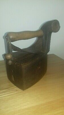 Antique Hot Coal / Charcoal Iron