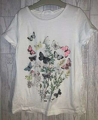 Girls Age 8-10 Years - H&M T Shirt Top