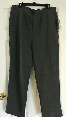 MENS NEW WITH tags Everlast Sport Sweatpants Size 4X Gray