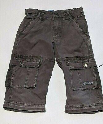 Pumpkin Patch age 4 years Brown crop trousers shorts cargo pants boys ~c384