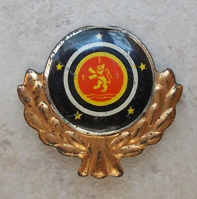 Badge Vintage Pins Auto Voiture FORD PREFECT UK Anglais ancien 1960's