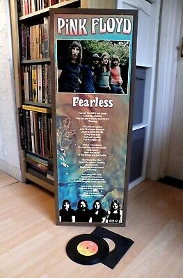 Pink Floyd Fearless Promotional Poster Lyric Sheet,Animals,Wall,Dark Moon