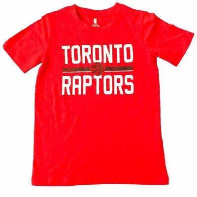 Toronto Raptors Classic Short Sleeves Work Mark & Primary Logo Youth T Shirt NBA